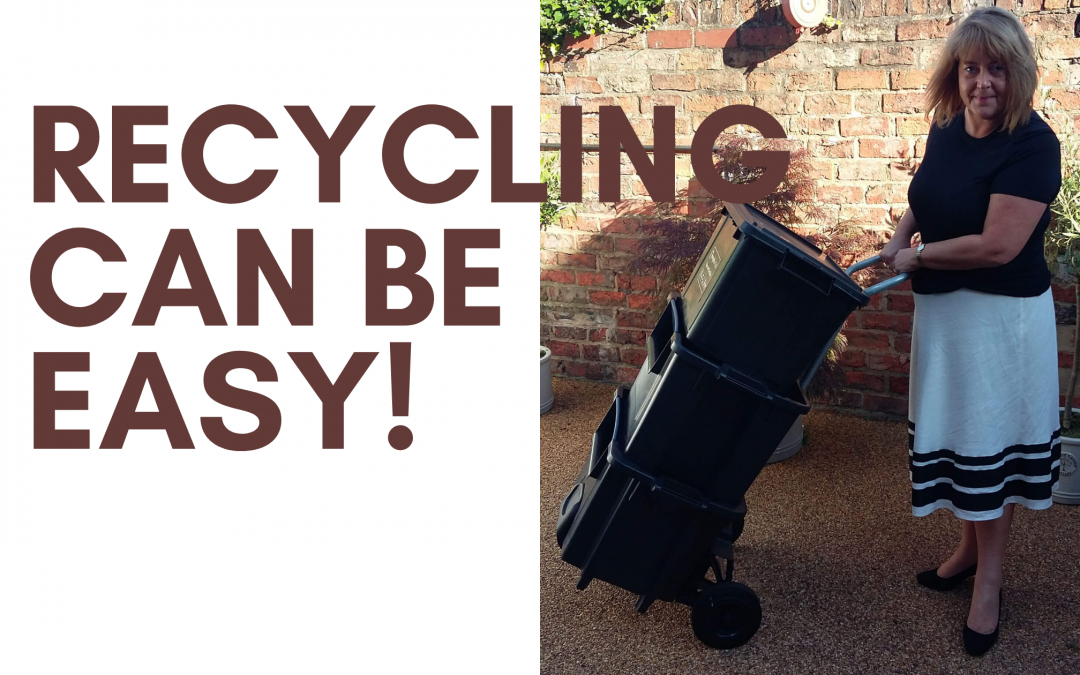 No space to recycle? No problem!